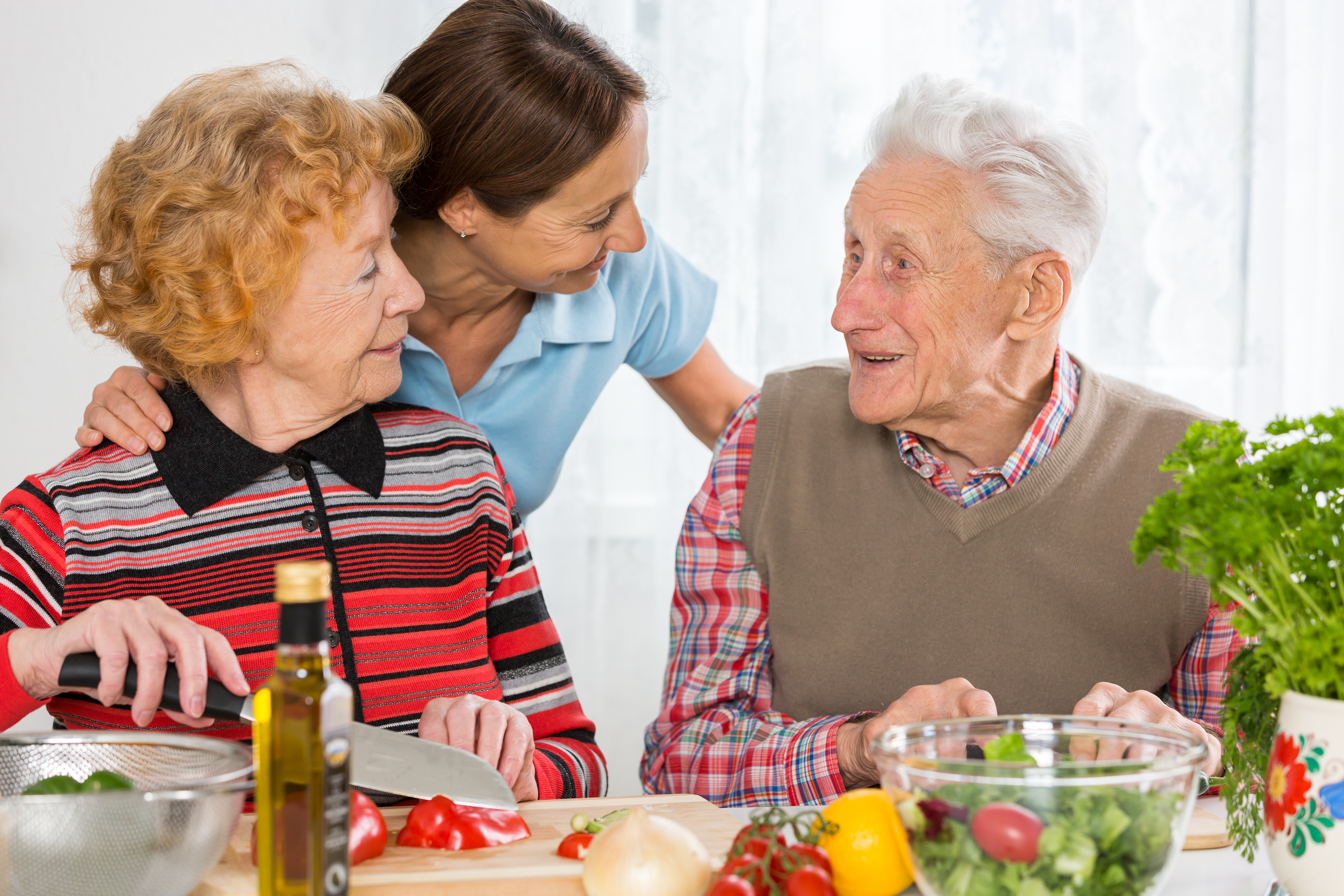 Elderly Meal Preparation as a Home Health Care Service