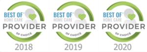 Best of Home Care Provider Award Logo